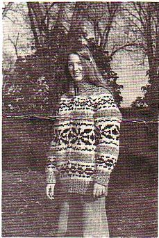 Buffalo 14, for sizes 36 to 46 chest with shawl collar, pdf pattern...I have enough wool to make this sweater.....for me!