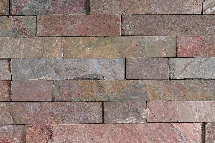 BuildDirect: Stone Siding Natural Ledge Stone   Quartzite   Copper