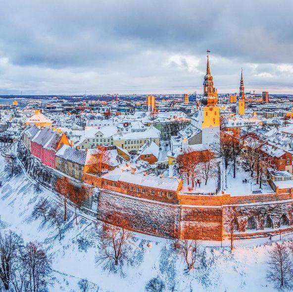 The magical Tallinn Estonia