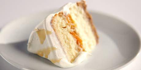 Multi-Layered Peach Cake by Jacqui Keseluk *Category Winner!*