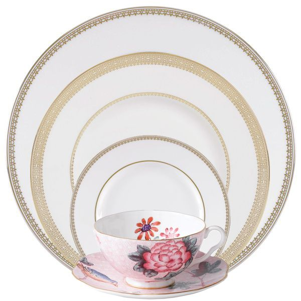 Wedding registries place settings and chic on pinterest for Good places for wedding registry