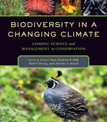 Biodiversity In A Changing Climate: Linking Science And Management In Conservation PDF