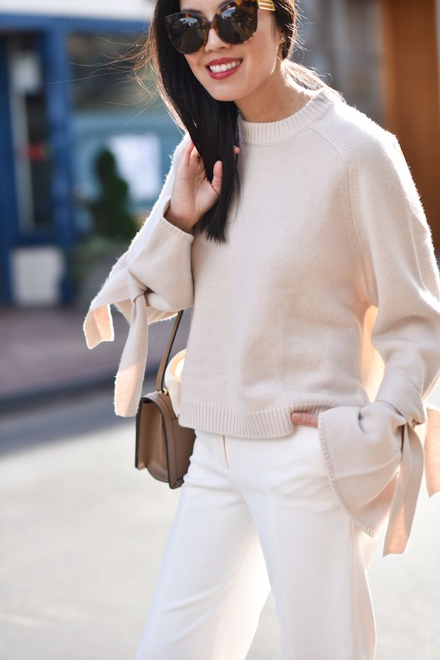 I'm IN LOVE with this bell sleeved sweater!