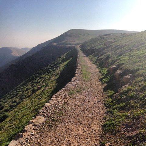 Ancient road to Jericho (Samaritan travels)