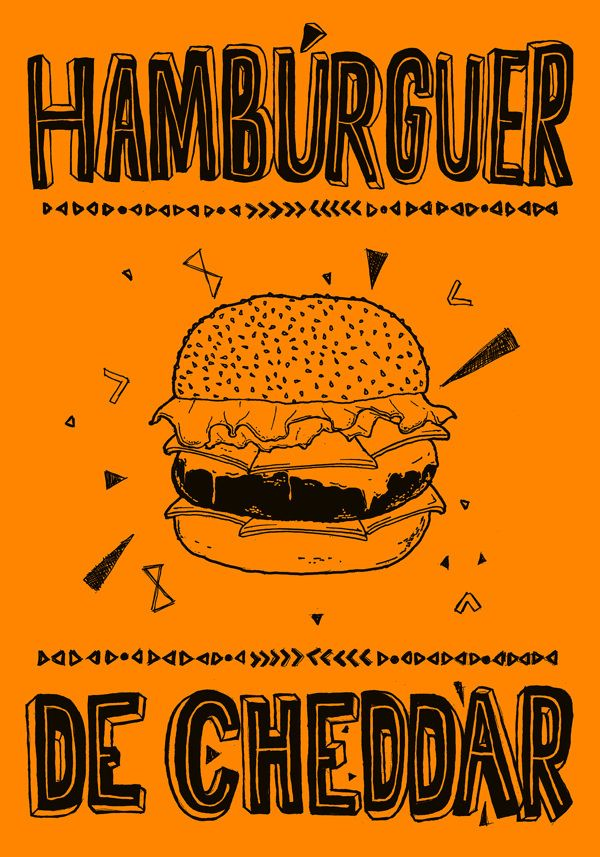 Food Posters on Behance — Designspiration