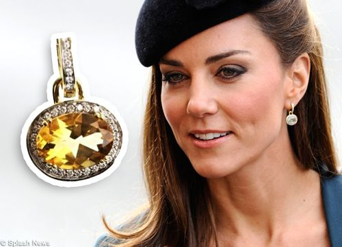 Kate And Citrine Earrings Royal Km Jewelry Pinterest