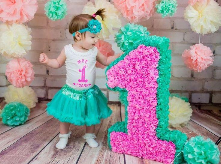 объемные цифры на день рождения