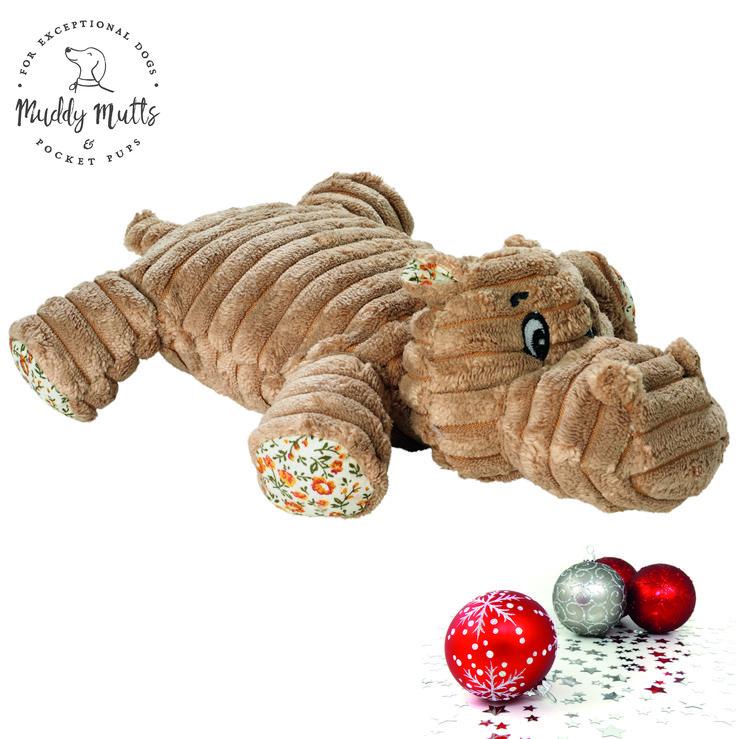 Huggly Amazonas Hippo Dog Toy Dog christmas presents