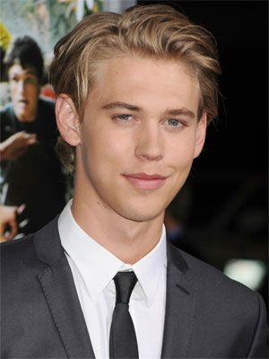 Austin Butler--I'm so sick of these pretty boys that the girls chase after these days.