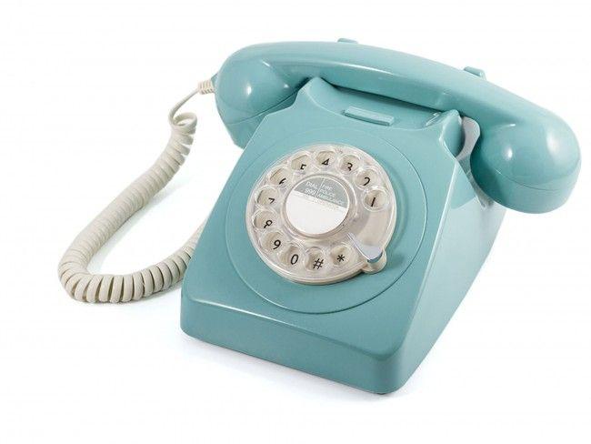 GPO 746 Draaischijf Blauw - Telefonie - 123platenspeler.nl