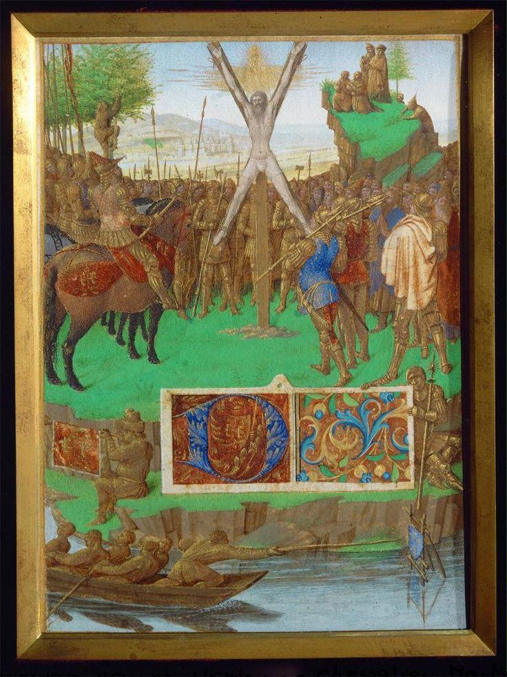 Jean Fouquet, Crucifixion of Saint Andrew