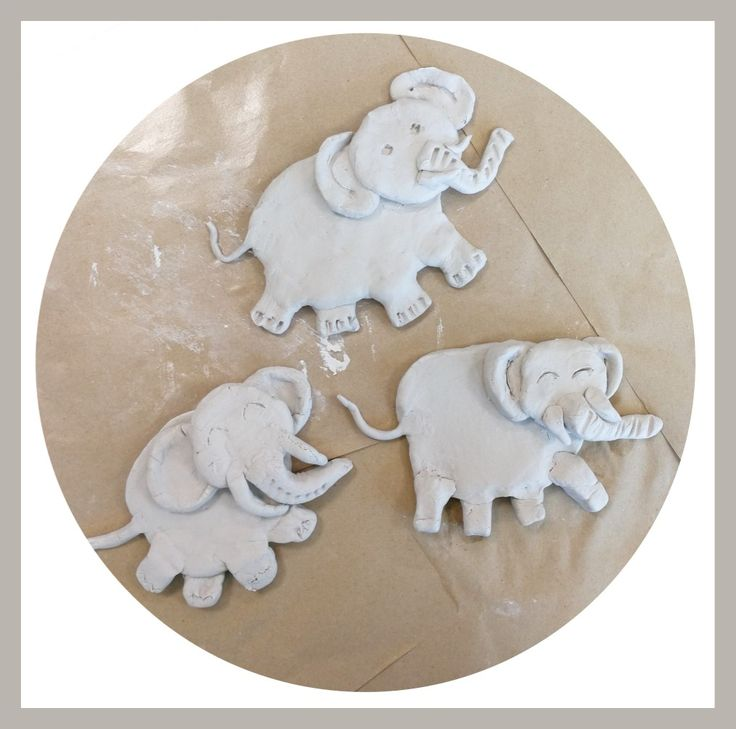 3 Little Elephants Clay Relief Course @ Yumin PS
