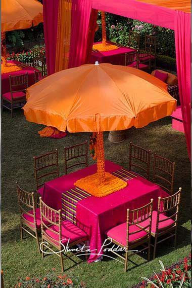 Indian Wedding ceremony design decor decorations ideas inspiration colors colorful |Stories by Joseph Radhik