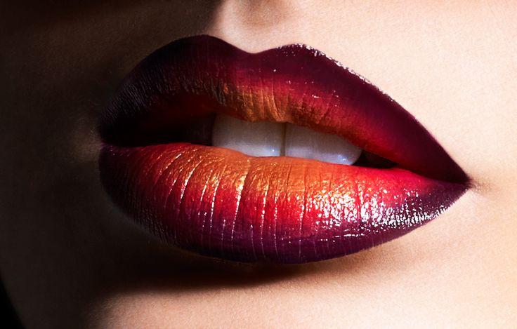 Romantic Vamp Ombre Lip #OCC #Sephora #EyeCandy Learn more>