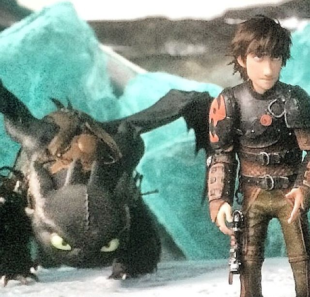 Hiccup confronts drago