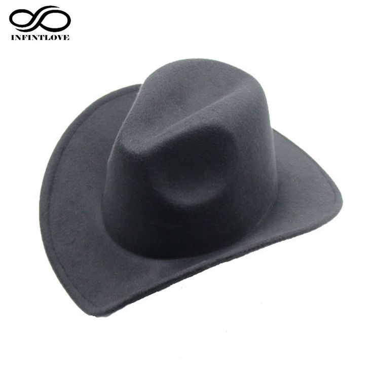 Fashion Trilby Wool Felt Fedora Country Cowboy Hat Solid Color Western Bull Jazz Sun Chapeu Caps For Men Women (One Size:57cm)-in Cowboy Hats from Men's Clothing & Accessories on Aliexpress.com | Alibaba Group