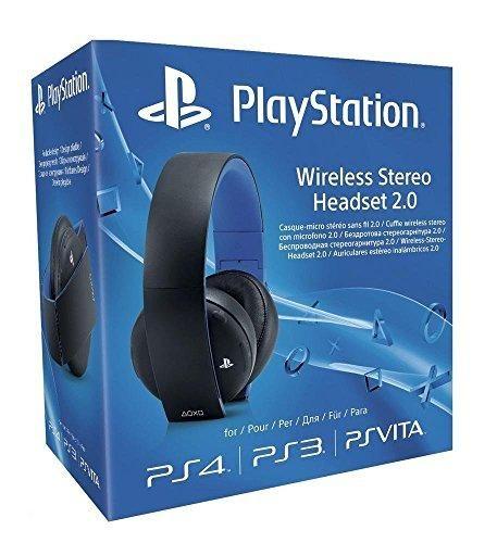 Oferta: 75.09€ Dto: -13%. Comprar Ofertas de Sony - Auriculares Inalámbricos Stereo, Color Negro (PS4, PS3, PS Vita) barato. ¡Mira las ofertas!