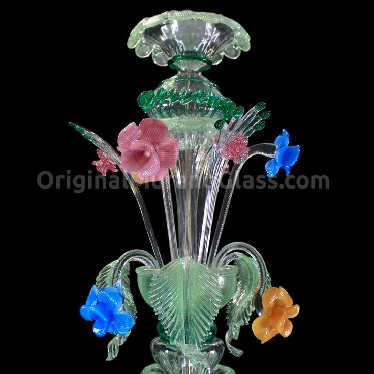 Chandelier Primavera - Rezzonico - Murano Glass - 8+4 lights