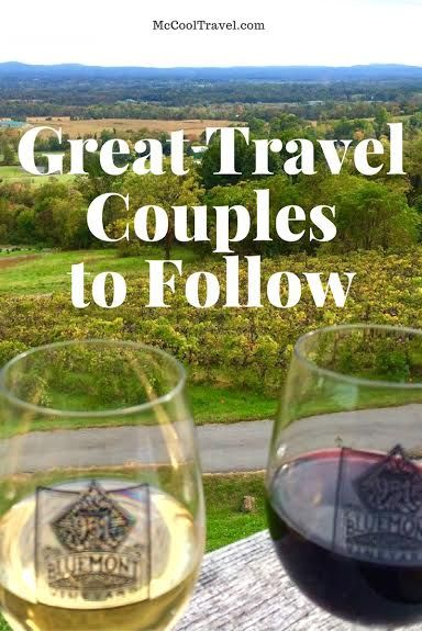 Here are some great travel couples to follow | travel influencers | travel bloggers | top travel bloggers | top travel couples