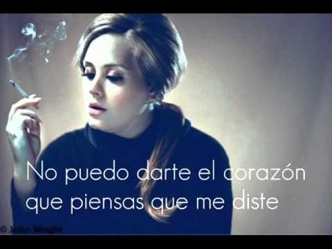 Adele-Turning Tables ( Subtitulada Al Español) - YouTube
