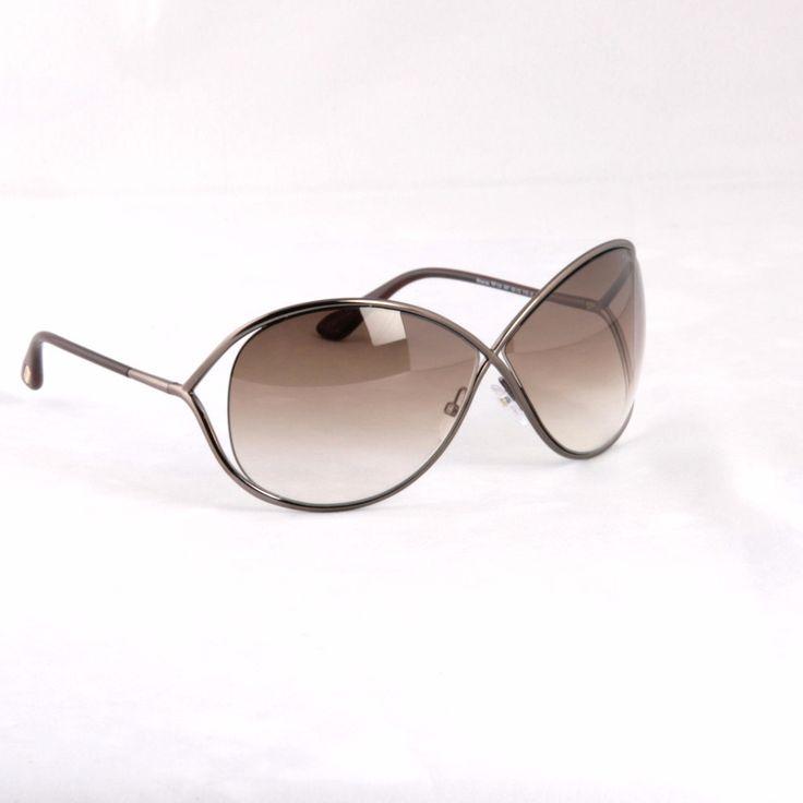 Tom Ford Miranda FT0130 SHINY BRONZE Sunglasses 36F