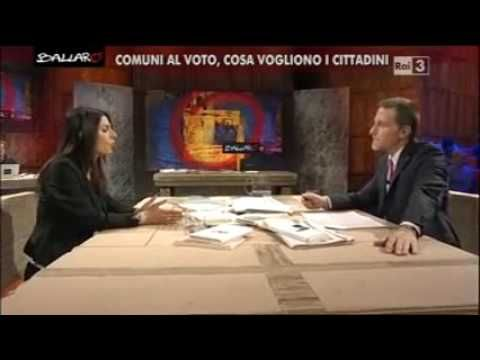 Virginia Raggi (M5S) a Ballarò (INTEGRALE) - YouTube