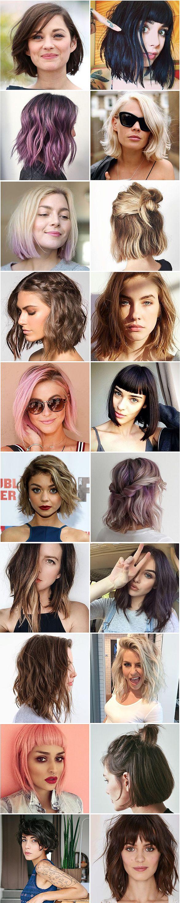 20 cabelos curtos pra você se inspirar!