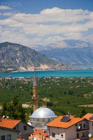 Lake Egirdir . Isparta, Turkey