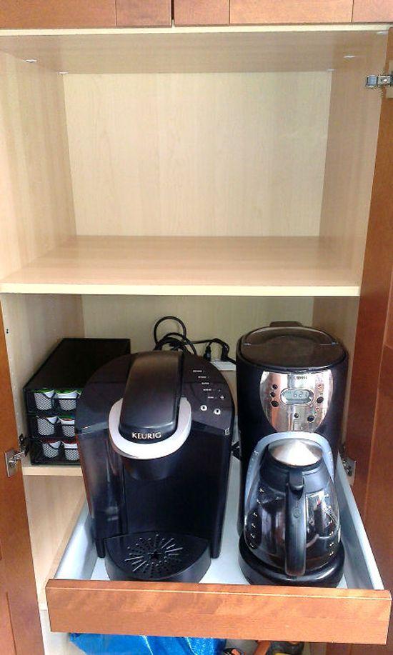 Ikea Hack Coffee Hideaway 18 Cabinet Drawer Akurum