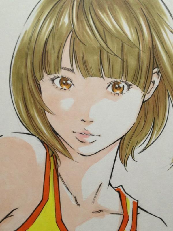 Twitter / EISAKUSAKU: 着色完成。