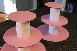 Lembrancinhas e Festas: Como fazer Suporte para os Cupcakes
