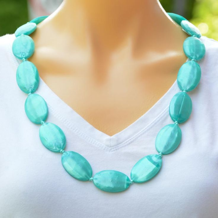 Malachite teething necklace, from our Tranquil range.