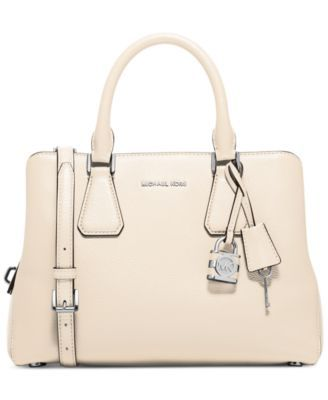 MICHAEL Michael Kors Camille Medium Satchel - saw this in the brown (dark  dune) �� Nice HandbagsSatchel ...