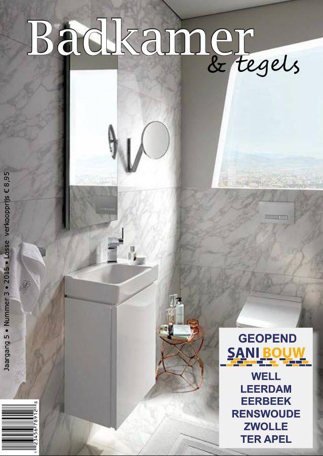 Badkamer & tegels, hét maandelijkse digitale badkamermagazine dat gratis wordt verspreid. Schrijf u in op onze website.
