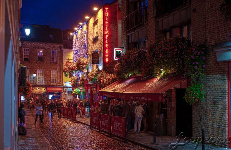 #hdr #Dublin #Irland #TempleBar HDR-Fotografie www.Loopzone.de