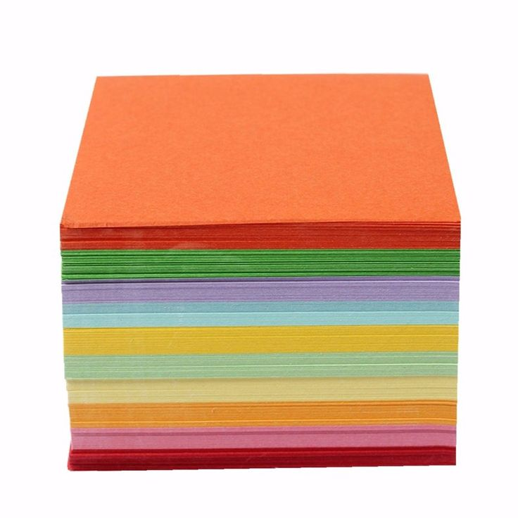 Fashion 100 520 PCS Sheets Origami Paper Double Sided Coloured Craft Square Assorted DIY Folded Papercraft Tools Multi Size