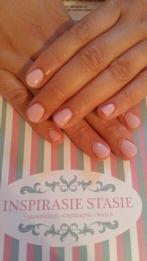 Feminine pink nails done with 'A Mauv-elous night' by #PolishPro