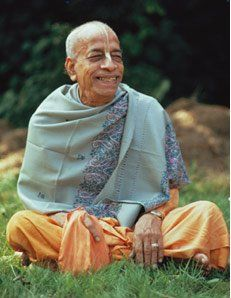 Srila Prabhupada the compassionate, kind, merciful and completely perfect example of living Krishna consciousness.
