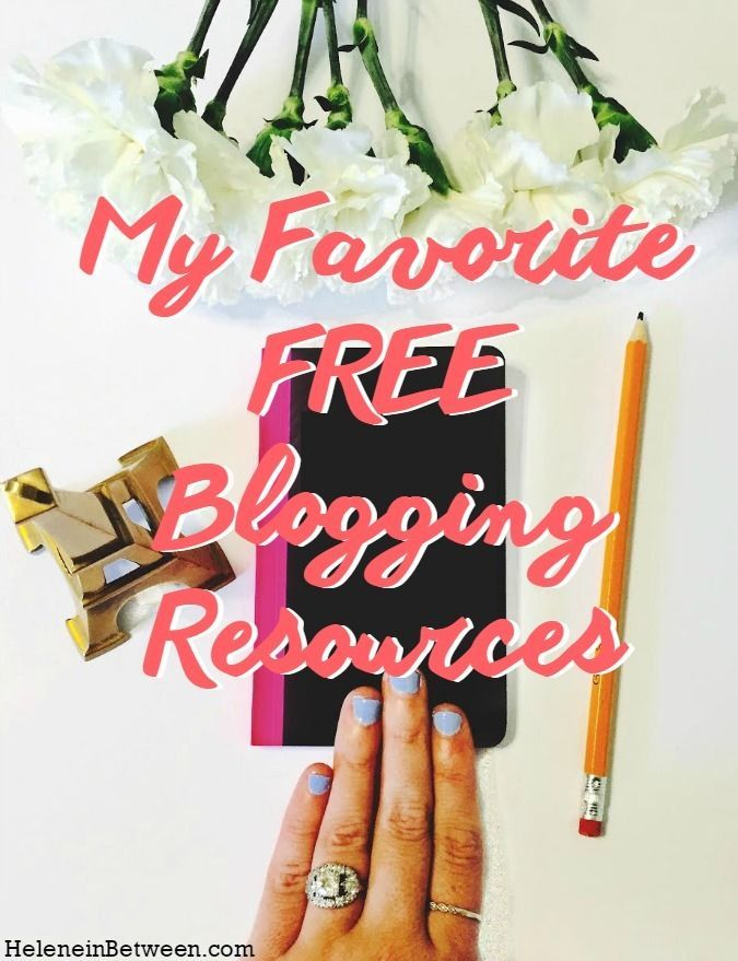 The Best FREE #Blogging Resources you can use right now! #blogger