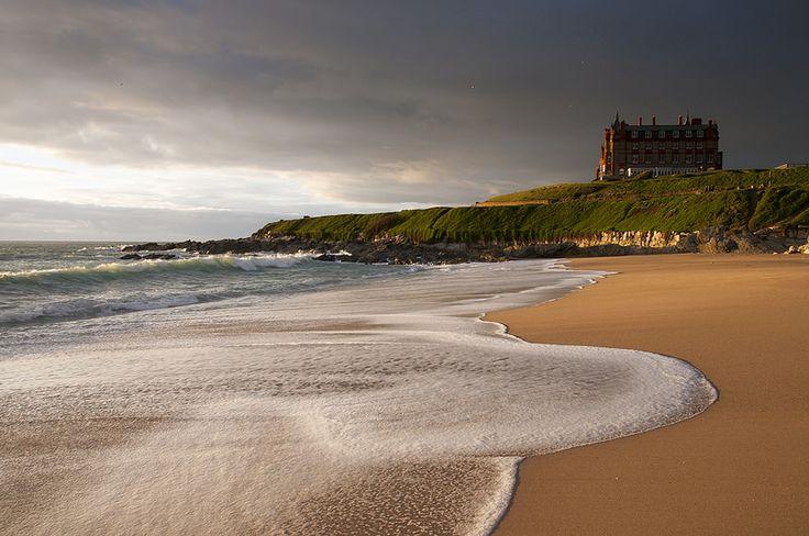 Headland hotel  Fistral beach, Newquay, Cornwall.