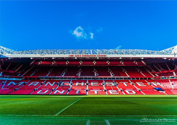 Landscape Photography Old Trafford Manchester United Utd Etsy Manchester United Wallpaper Manchester United Stadium Old Trafford