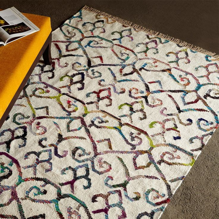 Upcycled Home & Fashion - Recycled Cotton & Wool Rug