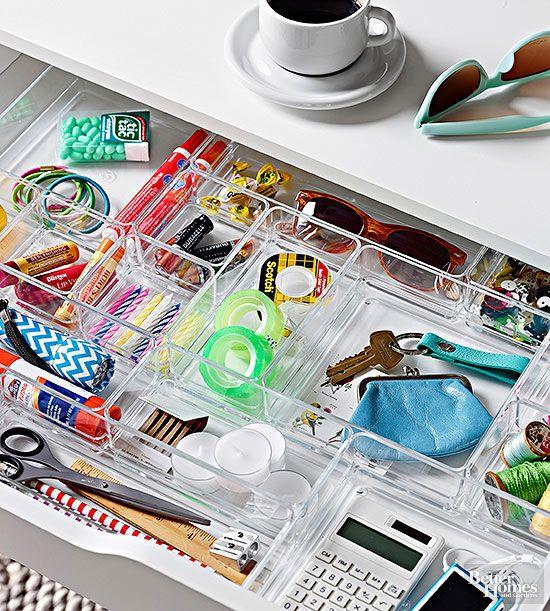 How To Organize Your Desk. Desk Drawer OrganizersDesk ...