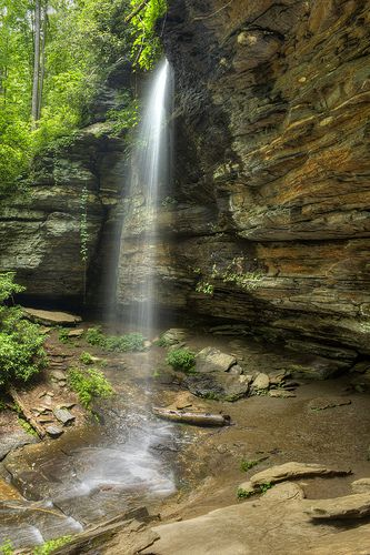Moore Cove Falls, Pisgah National Forest, Transylvania , Romania.