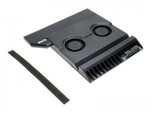 エルミタージュ秋葉原 – 熱を外部に強制排出。上海問屋「光学ドライブ交換型 ノートPC排熱ファン」