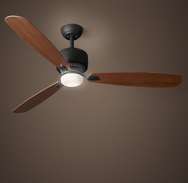 "Love the dark paint on the ceiling!!  Riverside Hills 56"" Ceiling Fan Oil-Rubbed Bronze"