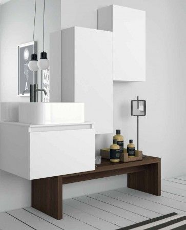 152 best Mobili bagno images on Pinterest | Bathroom, Bath room and ...