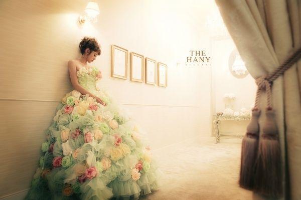 女の子の夢が詰まった魔法のドレス♡『THE HANY』のカラードレスに感動!