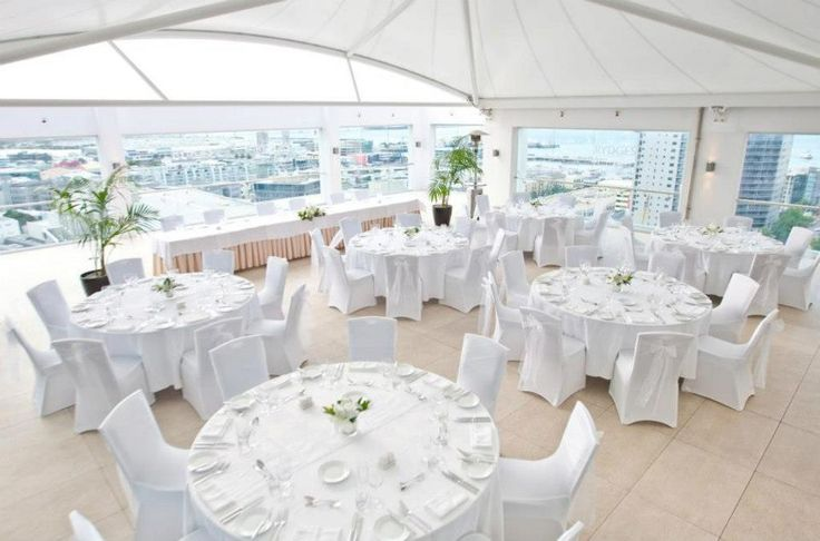 The Rooftop Terrace at Rydges #Auckland makes for a beautiful #wedding venue.