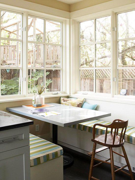 17 best ideas about kitchen corner booth on pinterest corner dining nook kitchen booth table - Corner booth kitchen ...